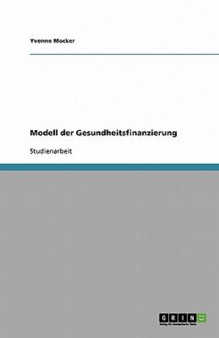 Modell Der Gesundheitsfinanzierung