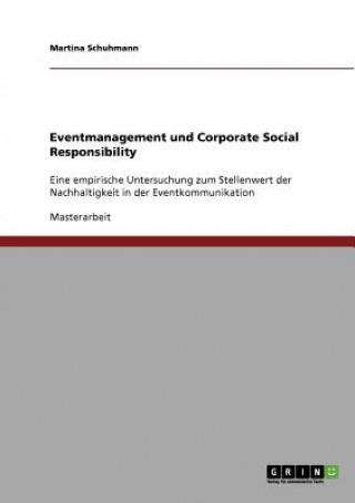 Eventmanagement und Corporate Social Responsibility