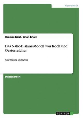 Das Nahe-Distanz-Modell von Koch und Oesterreicher