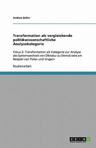 Transformation als vergleichende politikwissenschaftliche Analysekategorie