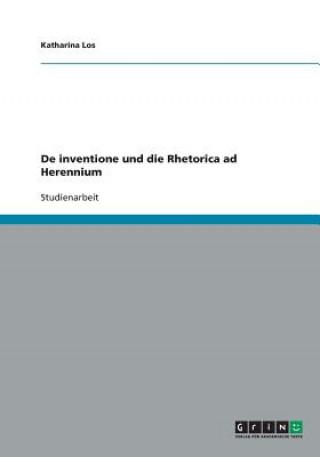 De inventione und die Rhetorica ad Herennium