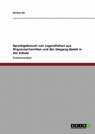 Sprachgebrauch Von Jugendlichen Aus Migrantenfamilien Und Der Umgang Damit in Der Schule
