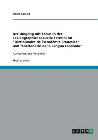 Der Umgang mit Tabus in der Lexikographie