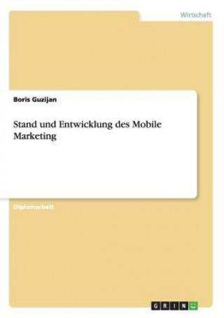 Stand und Entwicklung des Mobile Marketing