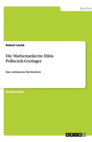 Die Mathematikerin Hilda Pollaczek-Geiringer
