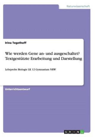 Wie werden Gene an- und ausgeschaltet? Textgestutzte Erarbeitung und Darstellung