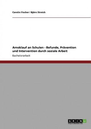 Amoklauf an Schulen - Befunde, Pravention und Intervention durch soziale Arbeit