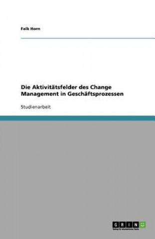 Aktivitatsfelder des Change Management in Geschaftsprozessen