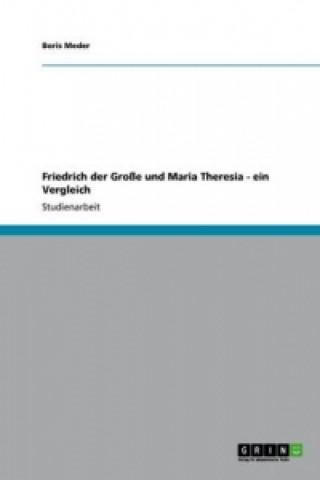 Friedrich der Große und Maria Theresia - ein Vergleich
