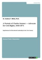 A Portrait of Charles Sumner - Advocate for Civil Rights, 1840-1874