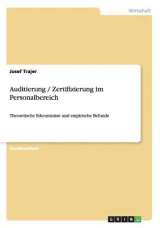 Auditierung / Zertifizierung im Personalbereich