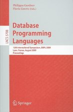 Database Programming Languages