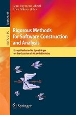 Rigorous Methods for Software Construction and Analysis