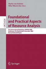 Foundational and Practical Aspects of Resource Analysis
