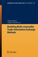 Modeling Multi-commodity Trade: Information Exchange Methods