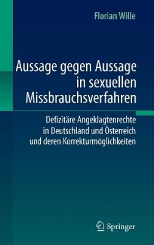 Aussage Gegen Aussage in Sexuellen Missbrauchsverfahren