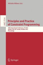 Principles and Practice of Constraint Programming - CP 2012