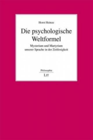 Die psychologische Weltformel