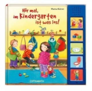 Hör mal, im Kindergarten ist was los! Tonmodulen