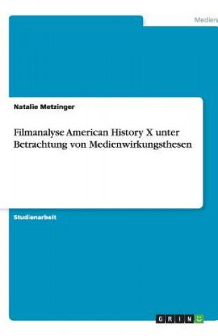 Filmanalyse American History X unter Betrachtung von Medienwirkungsthesen