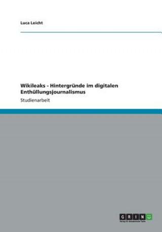 Wikileaks - Hintergrunde im digitalen Enthullungsjournalismus
