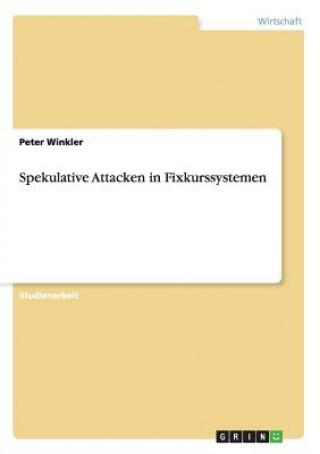 Spekulative Attacken in Fixkurssystemen