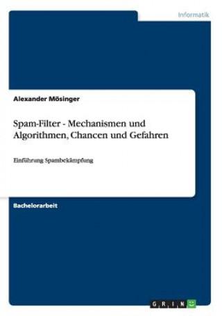 Spam-Filter - Mechanismen Und Algorithmen, Chancen Und Gefahren