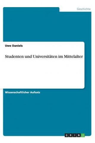 Studenten Und Universit ten Im Mittelalter