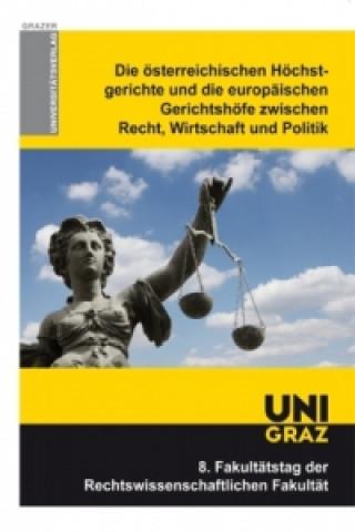Die österreichischen Höchstgerichte und die europäischen Gerichtshöfe zwischen Recht, Wirtschaft und Politik