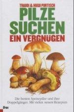 Pilze suchen, ein Vergnügen