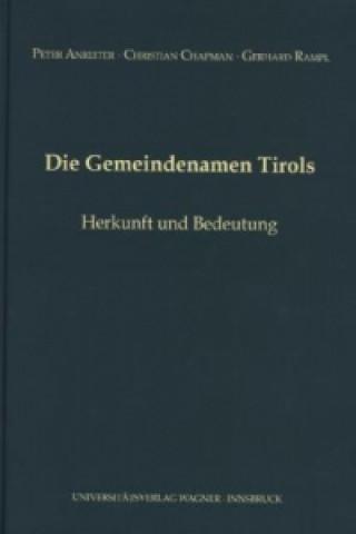 Die Gemeindenamen Tirols