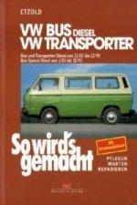 VW Bus und Transporter Diesel von 11/80 bis 12/90, Bus Syncro Diesel von 02/85 bis 10/92