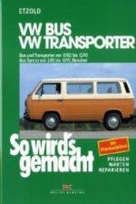 VW Bus und Transporter von 10/82 bis 12/90, VW Bus Syncro von 2/85 bis 10/92