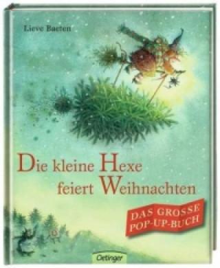 Die kleine Hexe feiert Weihnachten, Das große Pop-up-Buch