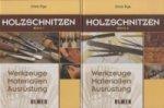 Holzschnitzen, 2 Bde.