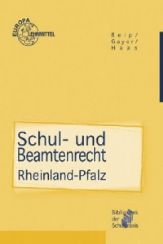 Schul- und Beamtenrecht Rheinland-Pfalz