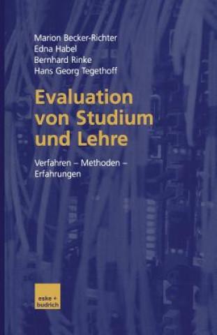 Evaluation Von Studium Und Lehre