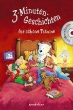3-Minuten-Geschichten für schöne Träume, m. Audio-CD
