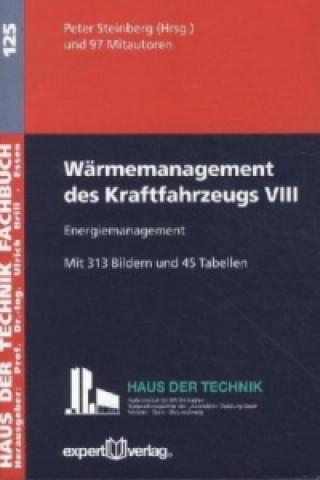 Wärmemanagement des Kraftfahrzeugs VIII