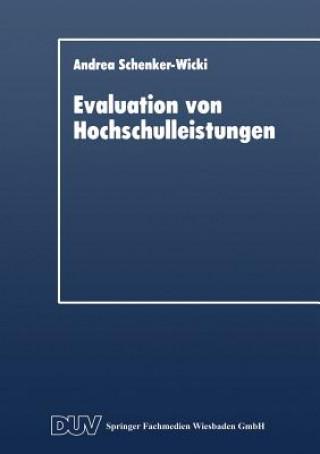 Evaluation Von Hochschulleistungen