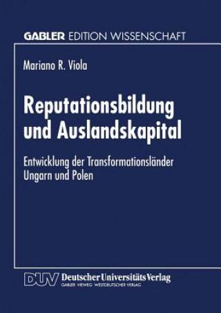 Reputationsbildung Und Auslandskapital