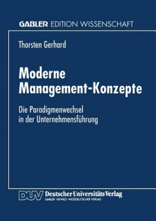 Moderne Management-Konzepte