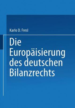 Die Europaisierung Des Deutschen Bilanzrechts