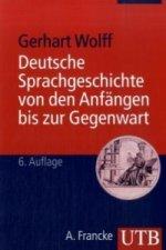 Deutsche Sprachgeschichte von den Anfängen bis zur Gegenwart