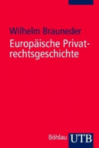 Europäische Privatrechtsgeschichte