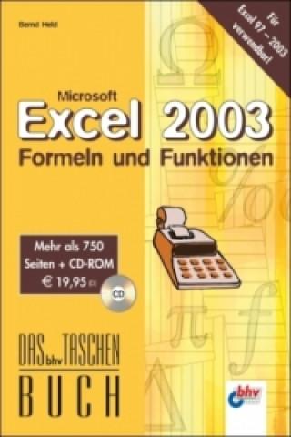 Microsoft Excel 2003, Formeln und Funktionen
