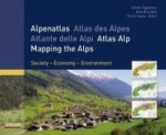 Alpenatlas. Atlas des Alpes. Atlante delle Alpi; Atlas Alp; Mapping the Alps