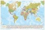 Weltkarte, Planokarte