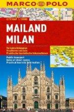 Marco Polo Citymap Mailand. Milan / Milano