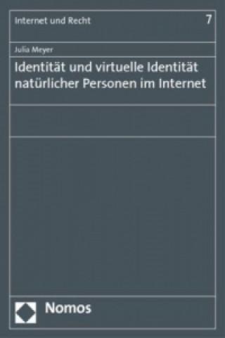 Identität und virtuelle Identität natürlicher Personen im Internet